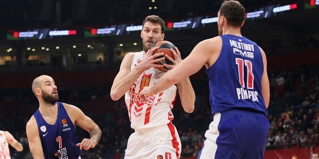 Zvezda extends big man Kuzmic
