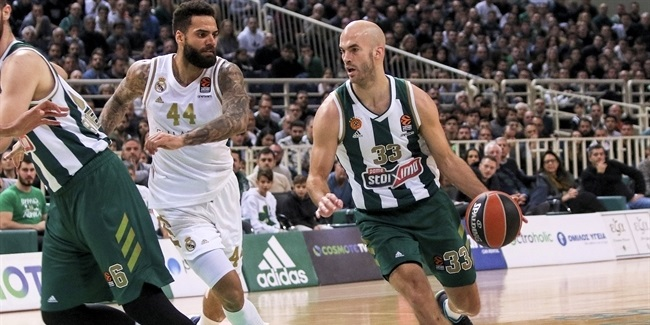 RS Round 16: Panathinaikos OPAP Athens vs. Real Madrid
