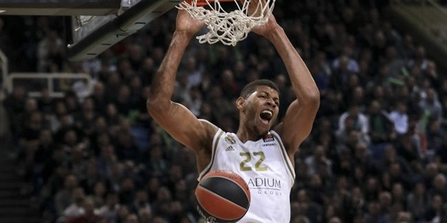 Tavares and ball sharing boosted Real over Panathinaikos