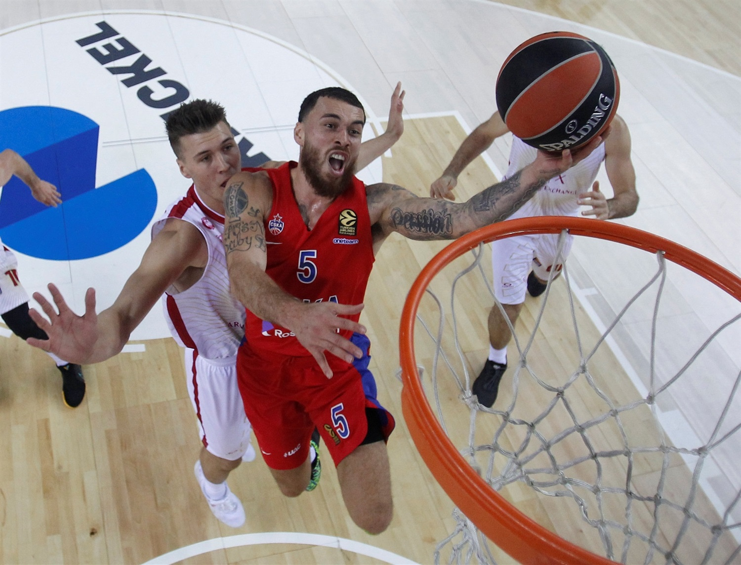 Mike James - CSKA Moscow - EB19