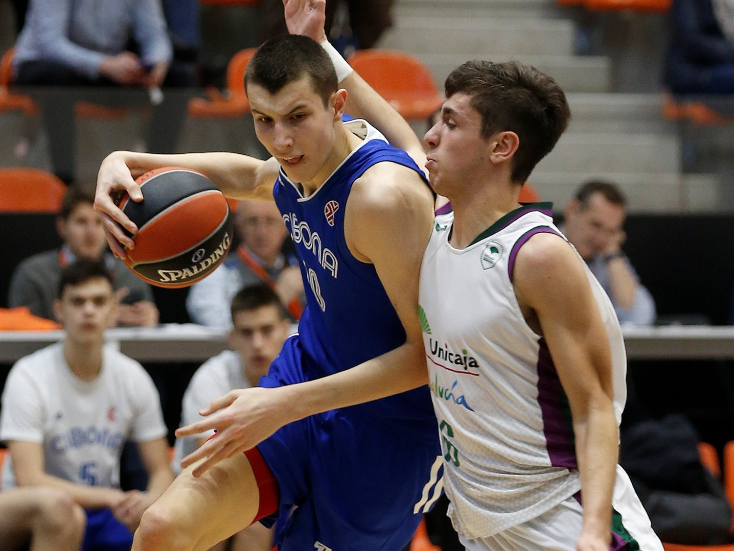 Zvonimir Ivisic - U18 Cibona Zagreb - ANGT Valencia 2019-20 (photo Miguel Angel Polo) - JT19