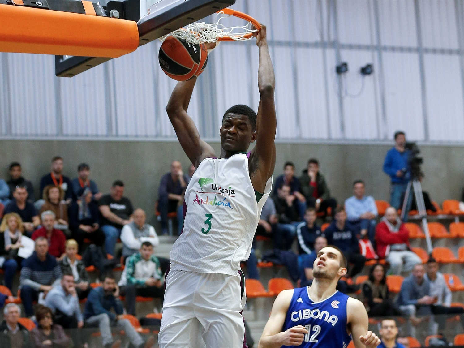 Yannick Nzosa - U18 Unicaja Malaga - ANGT Valencia 2019-20 (photo Miguel Angel Polo) - JT19