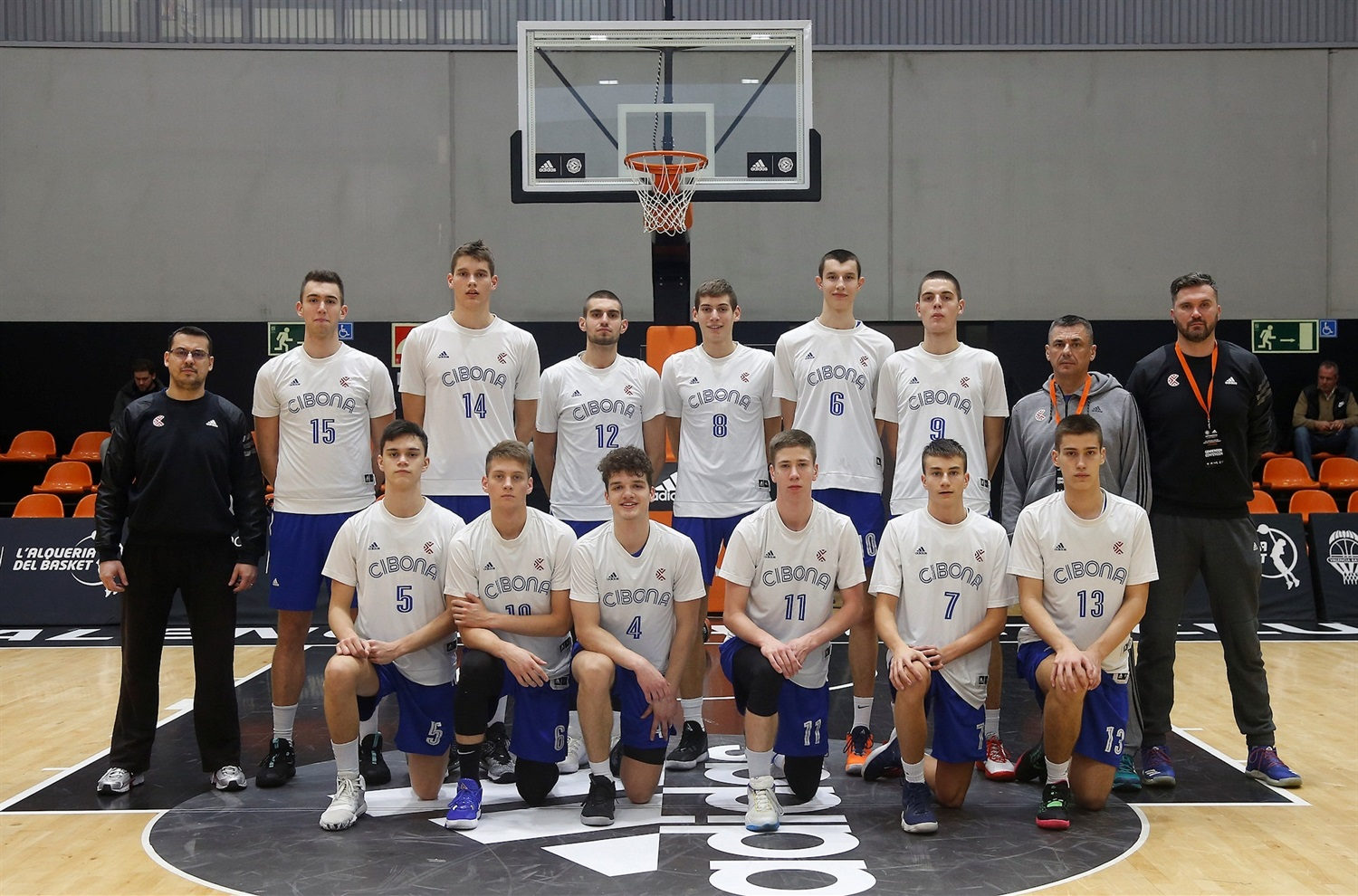 U18 Cibona Zagreb - ANGT Valencia 2019-20 (photo Miguel Angel Polo) - JT19