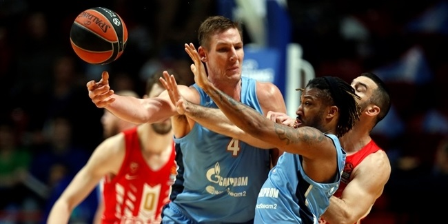Zenit's Renfroe, Iverson out for several weeks