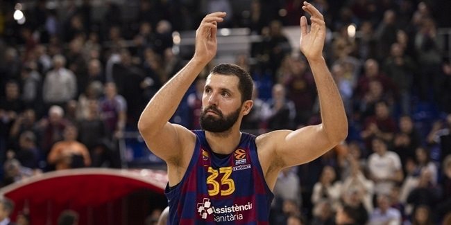 MVP for December: Nikola Mirotic, FC Barcelona