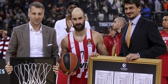 Spanoulis is the new EuroLeague scoring king!