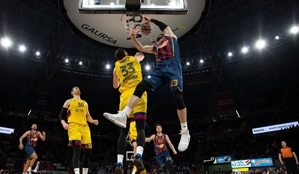 RS17 Report: Shengelia's dunk lifts Baskonia past Barcelona