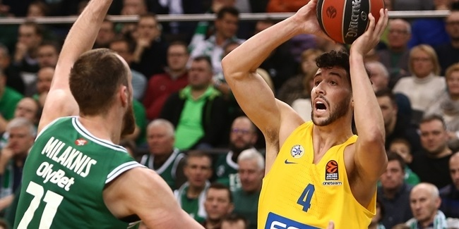 Maccabi re-signs forward Caloiaro
