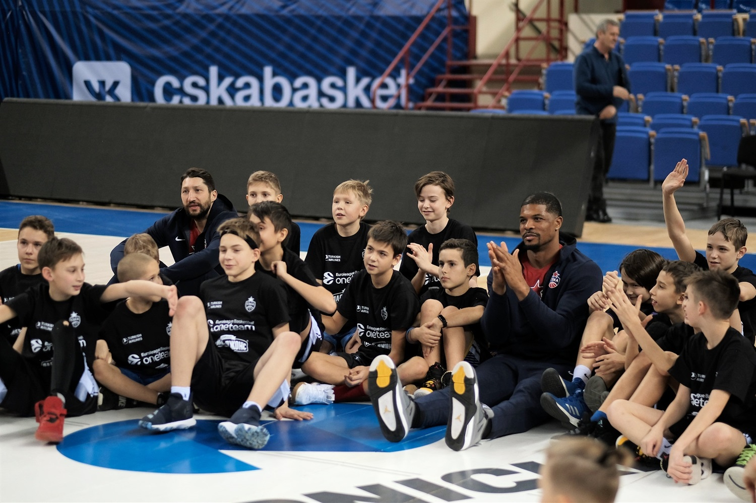 Kurbanov and Hines, One team session in Kaliningrad - CSKA Moscow - JT19