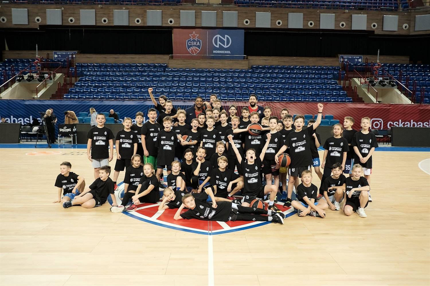 One team session in Kaliningrad - CSKA Moscow - JT19
