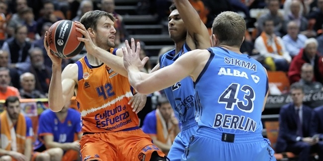 RS Round 17: Valencia Basket vs. ALBA Berlin