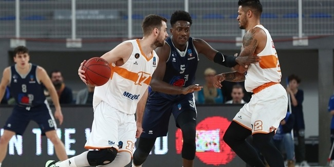 7DAYS EuroCup, Top 16 Round 1: Germani Brescia Leonessa vs. Promitheas Patras