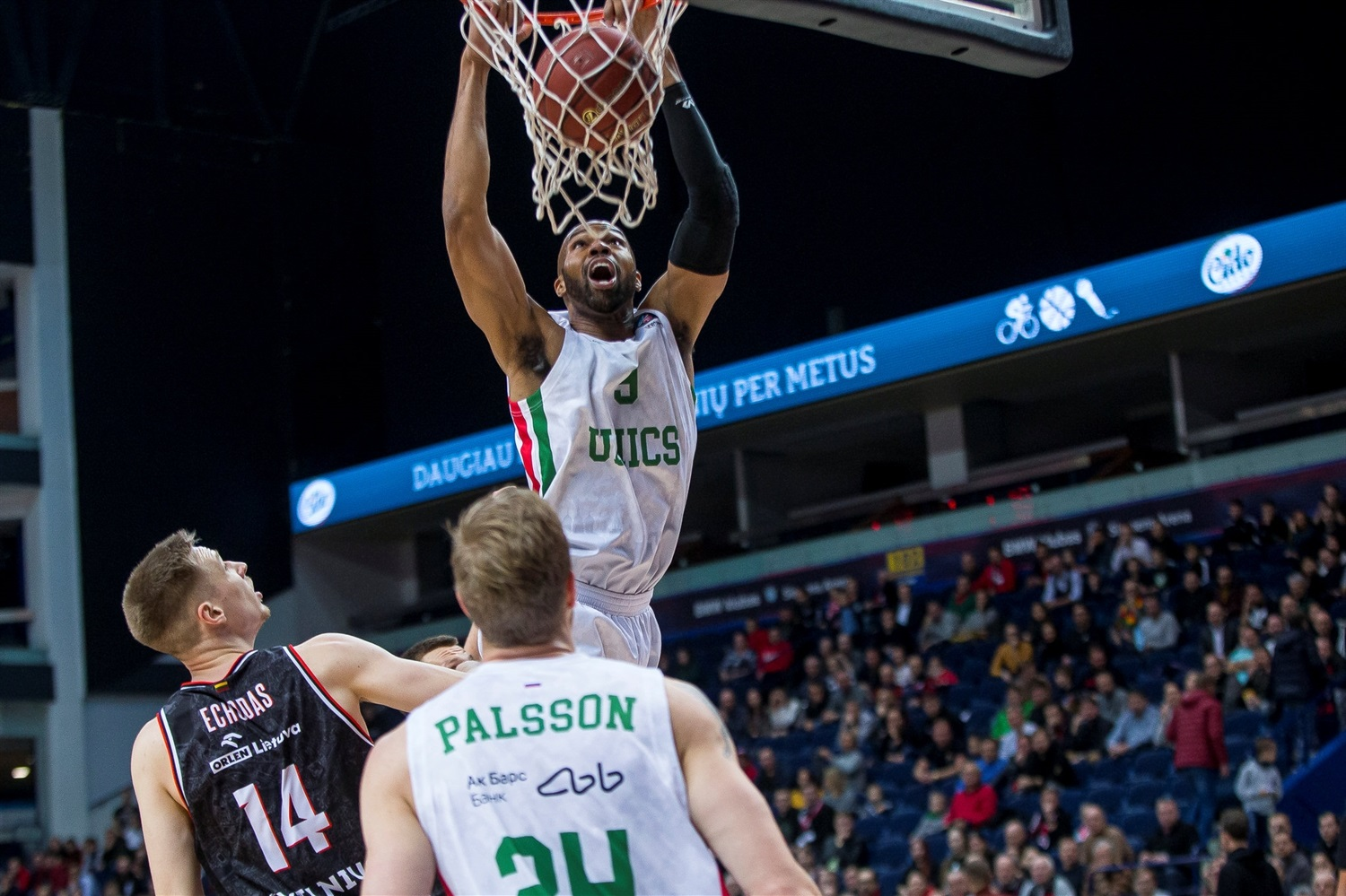 Alex Tyus - UNICS Kazan (photo Rytas) - EC19