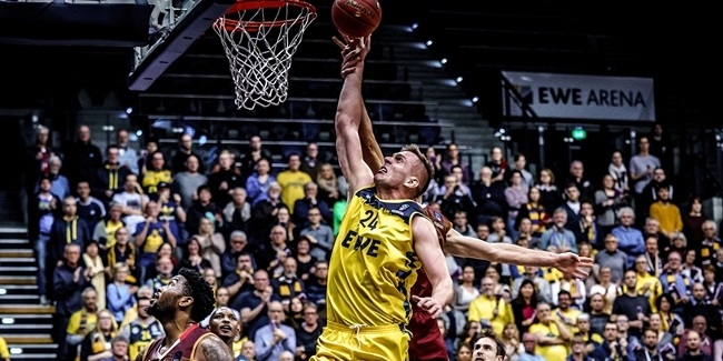 Top 16 Round 1 MVP: Rasid Mahalbasic, EWE Baskets Oldenburg