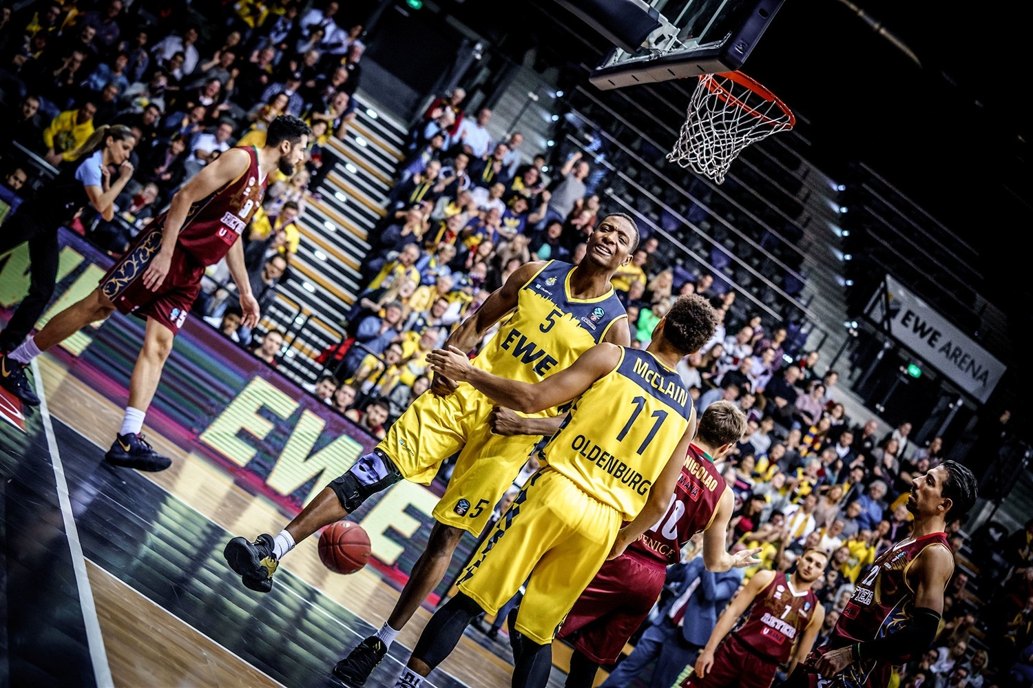 Justin Sears - EWE Baskets Oldenburg (photo Ulf Duda - fotoduda.de) - EC19