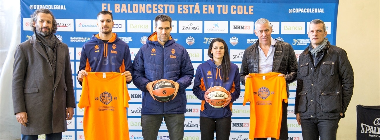 EuroLeague Academy helps launch 2020 Copa Colegial