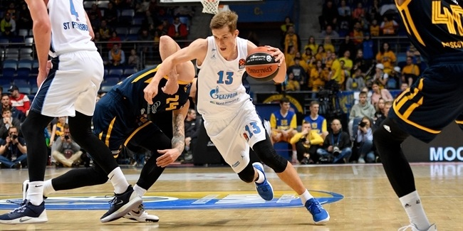 RS Round 18: Khimki Moscow Region vs. Zenit St Petersburg