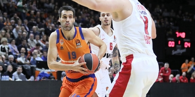 RS Round 18: Valencia Basket vs. Olympiacos Piraeus