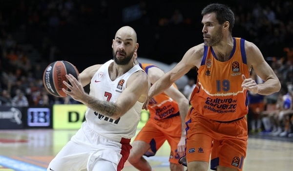 RS18 Report: Olympiacos pull out crucial win in Valencia