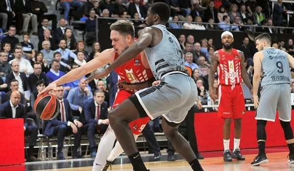RS18 Report: Zvezda ambushes ASVEL in thriller