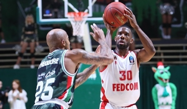 T16 Round 2 Report: Monaco grab big road win over UNICS