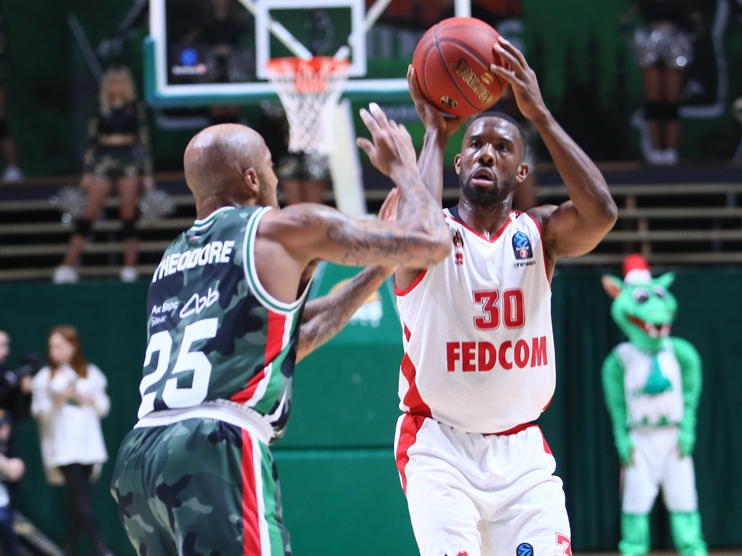 Norris Cole - AS Monaco (photo UNICS) - EC19