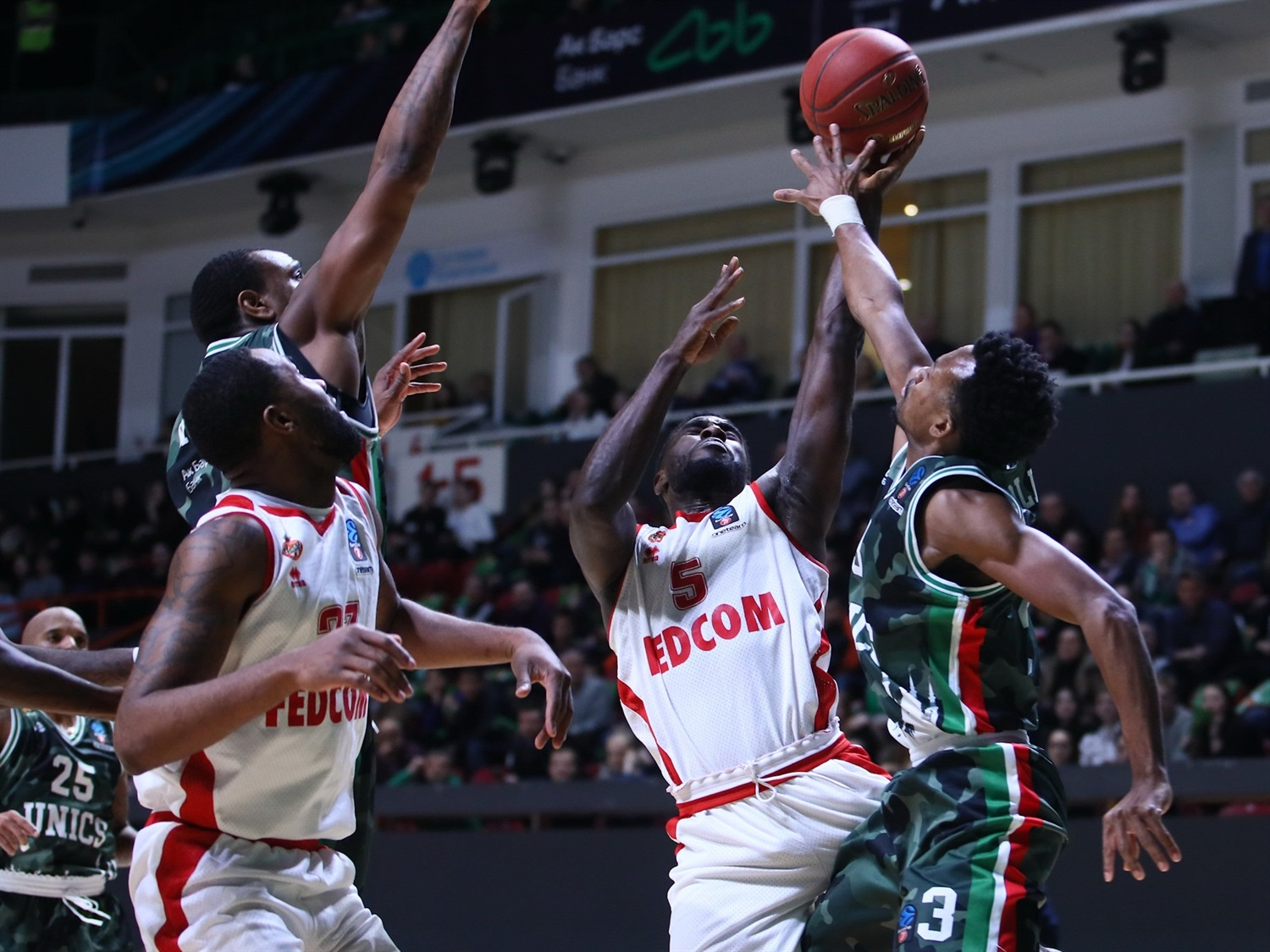 Anthony Clemmons - AS Monaco (photo UNICS) - EC19