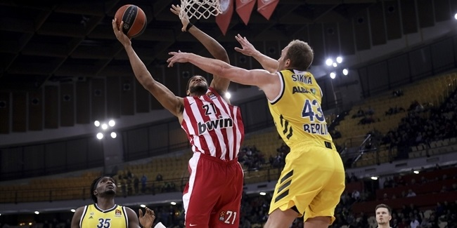 RS Round 19: Olympiacos Piraeus vs. ALBA Berlin
