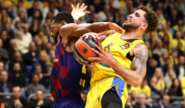 RS19 Report: Maccabi outlasts Barcelona at home