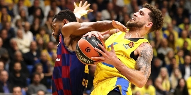 RS Round 19: Maccabi FOX Tel Aviv vs. FC Barcelona