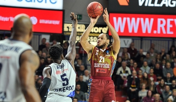 T16 Round 2 Report: Chappell sparks Reyer past Brescia