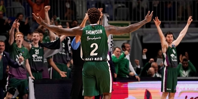 Top 16 Round 2 MVP: Deon Thompson, Unicaja Malaga
