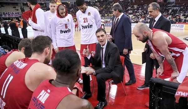 Georgios Bartzokas, Olympiacos: 'We want humble, motivated, thirsty players'