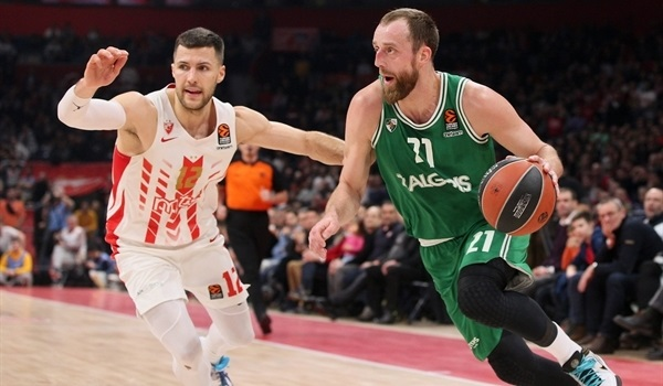 Zalgiris re-signs three-point threat Milaknis