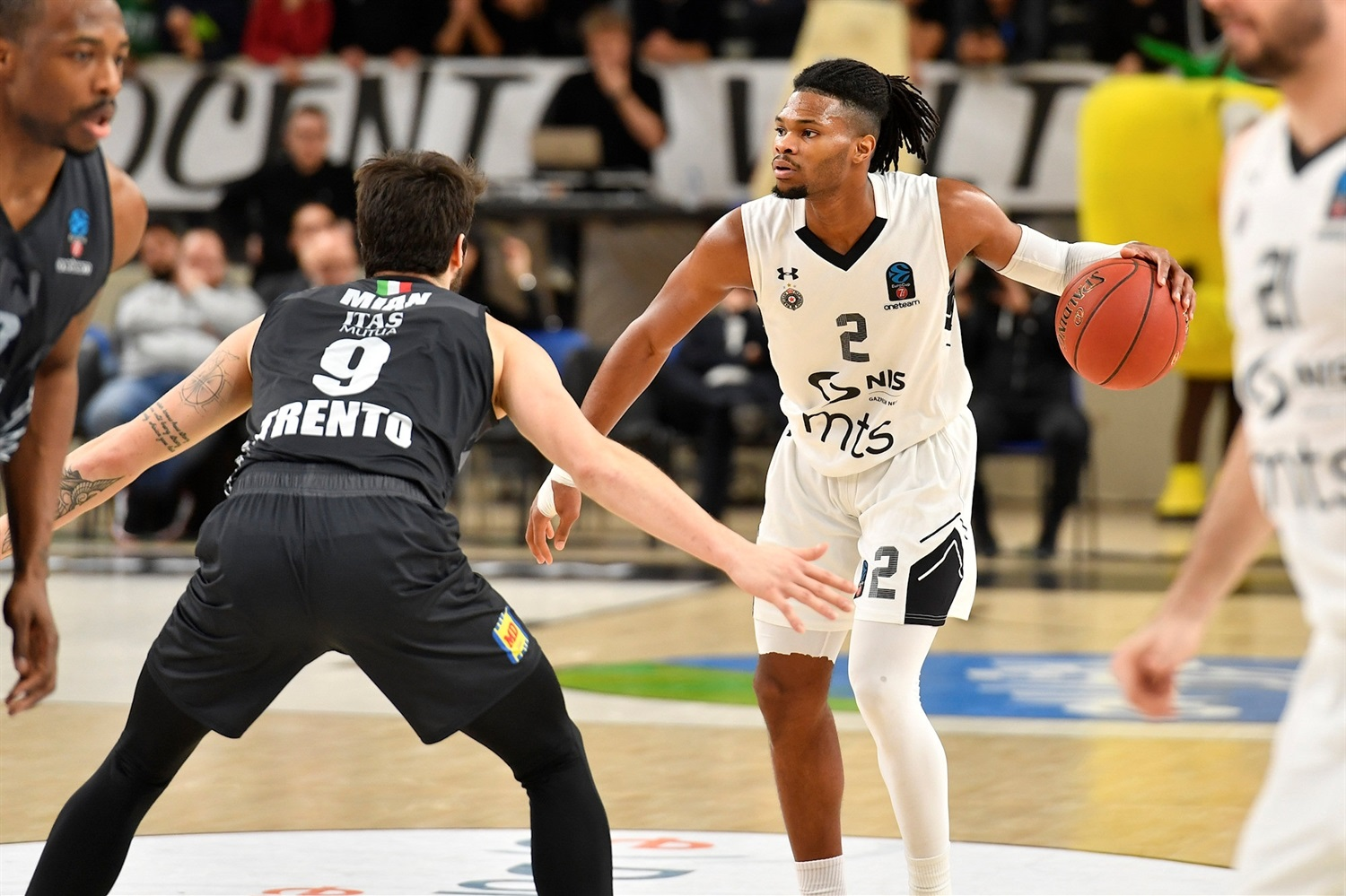 Torrian Walden - Partizan NIS Belgrade (photo Trento) - EC19