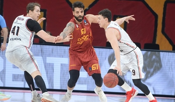 T16 Round 2 Report: Rytas rides past Galatasaray