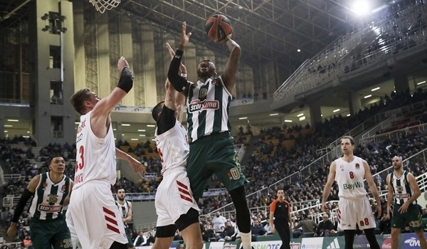 RS19 Report: Strong finish lifts Panathinaikos over Bayern