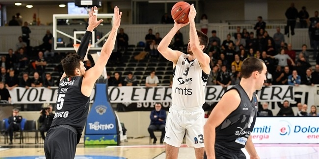 Partizan took its defense to the next level