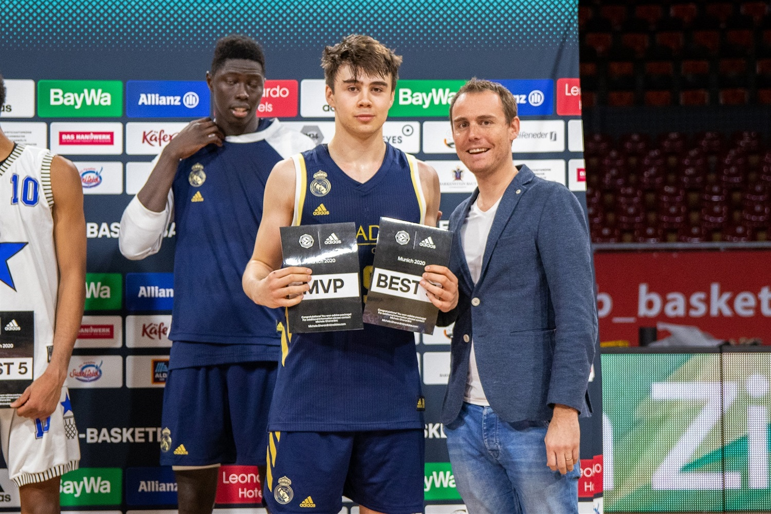 Juan Nuñez of U18 Real Madrid MVP ANGT Munich 2020 (photo Begum Unal - Bayern) - JT19