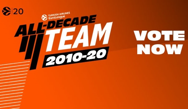 Vote now for the EuroLeague All-Decade Team!