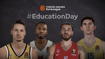 EuroLeague clubs celebrate #EducationDay!