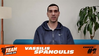 My EuroLeague All-Decade Team: Nikos Zisis