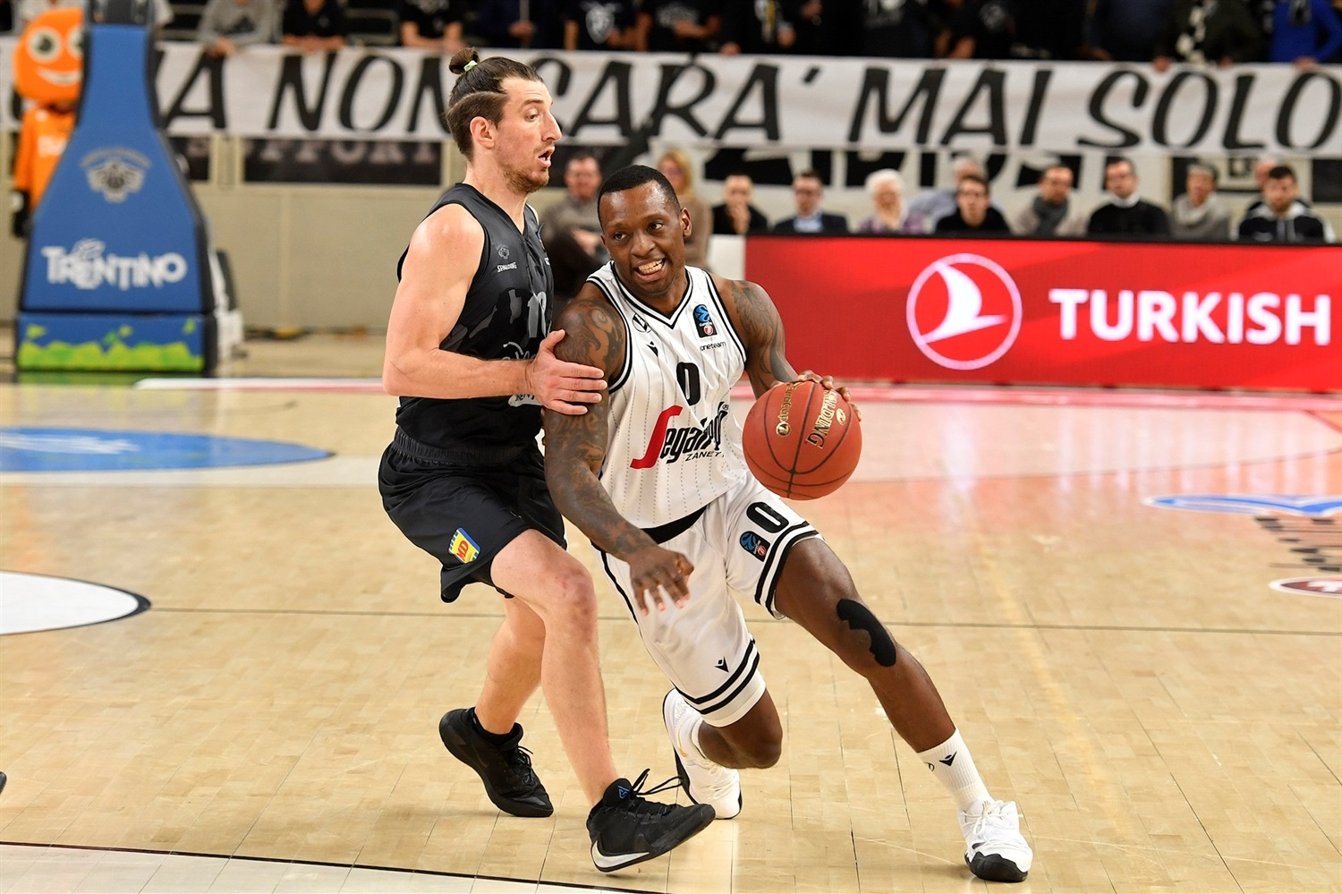 Frank Gaines - Segafredo Virtus Bologna (photo Trento) - EC19