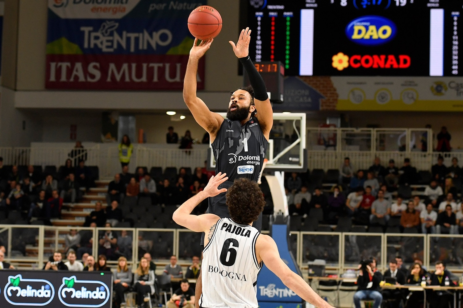 James Blackmon - Dolomiti Energia Trento (photo Trento) - EC19
