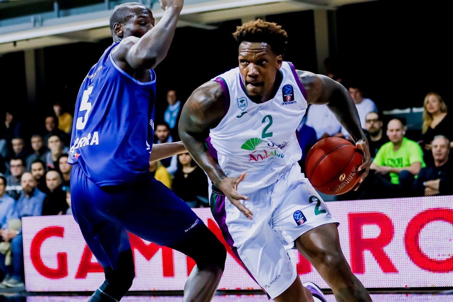 Deon Thompson - Unicaja Malaga  (Photo Martin Imatge) - EC19