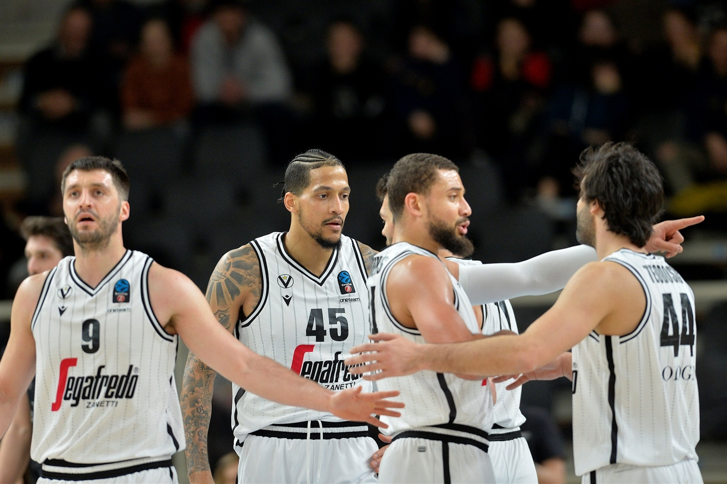 Players Segafredo Virtus Bologna (photo Trento) - EC19