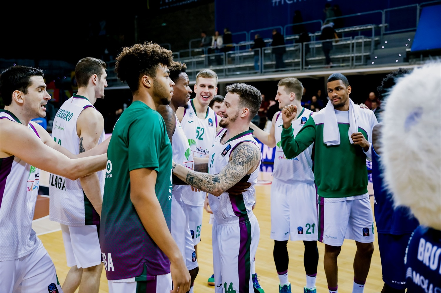 Unicaja Malaga celebrates (Photo Martin Imatge) - EC19