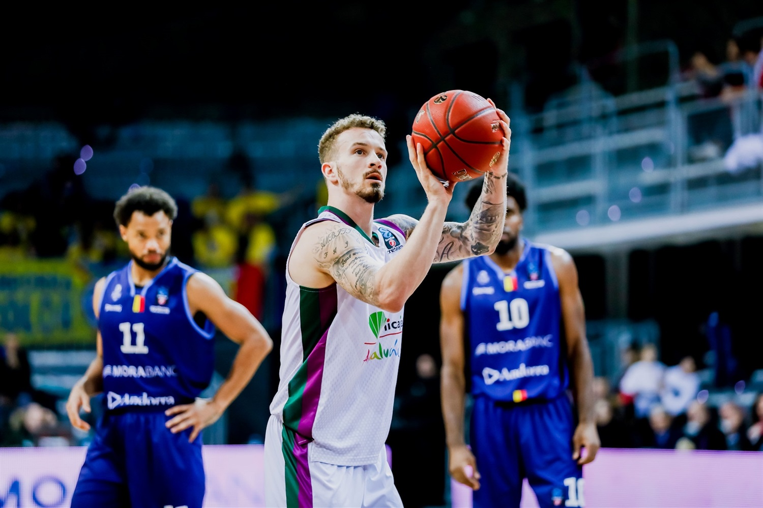 Josh Adams - Unicaja Malaga  (Photo Martin Imatge) - EC19