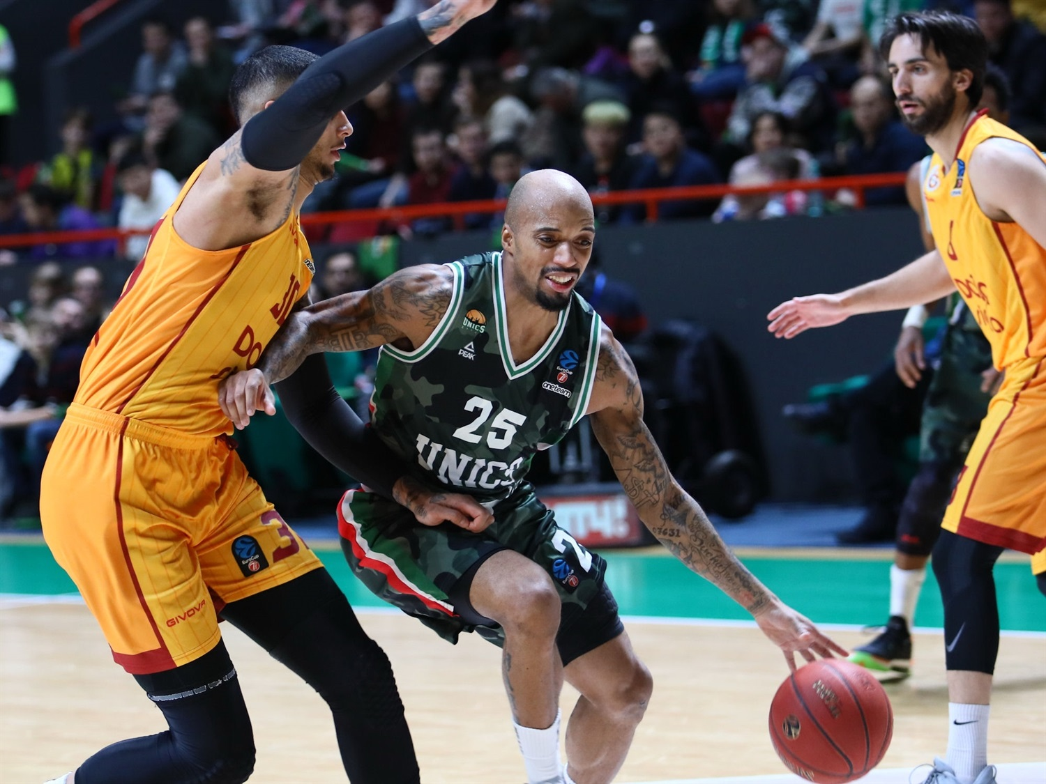 Jordan Theodore - UNICS Kazan (photo UNICS) - EC19