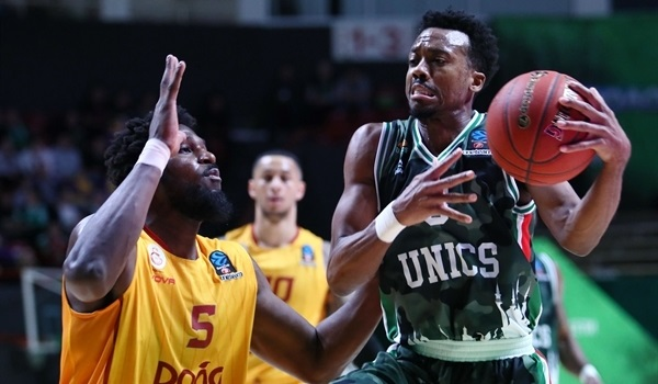T16 Round 3 Report: UNICS blows past Galatasaray